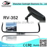 2014 best selling 3.5 inch Digital LCD monitor Car monitor Rearview mirror connect to car cameras