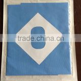 Blue SMS fenestrated surgical drapes disposable drapes
