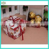 Cheaper cute 230g paper wedding chocolate gift box                                                                         Quality Choice