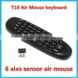 2.4G Gyroscope Factory C120 2.4G Remote Control Wireless Air Mouse For TV Box and Computer