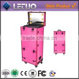 Salon case, Aluminum trolly beauty cases