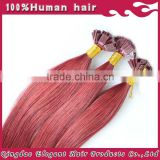 2014 new fashion popular natural human flat tip hair extensions in cheap price with high quality