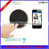 2015 New Generation Smart Security Camera System Wifi Doorbell IP Camera Support to Answer Door Bell free app for IOS / Android