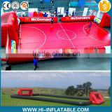 Outdoor inflatable soap soccer field sport games, new inflatable football/soccer field for sale                                                                                                         Supplier's Choice