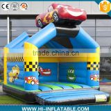 Full printing inflatable bouncer castle, inflatable bouncer with car                                                                                                         Supplier's Choice