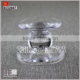 2014 Promotional crystal ball candle holder from quality glass candle holder suppliers