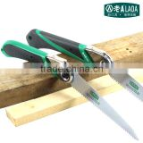 High Quality, 170mm, SK5 Garden Hand Tools Pruning serra Saw with Rubber Handle,Folding DIY woodworking Folded Saws