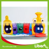outdoor children playground park Item,colourful outdoor plastic slide LE.HT.002