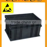 antistatic esd tote boxes 600*400*330mm