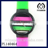 bright color many color available plastic wrist watch wholesale cheap fashion plastic watch