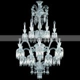Luxury Baccarat Fine Cut Crystal Chandelier Lighting Clear Glass Pendant Hanging Light Fixture CZ3503/18