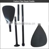 Factory on sale! Custom 3K matt or glossy 100% full carbon fiber kayak paddle for water sports
