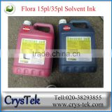 CRYSTEK Spectra polaris 512 15pl 35pl ink for Gongzheng inkjet solvent printer