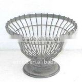 110597FD-L Metal wire basket & table top iron basket