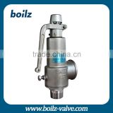 High and low pressure Safety valve pressure relief valve