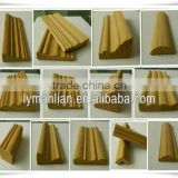 wholesale wood trim recon teak wood mouldings/engineered wood mouldings/unfinished wood block or lumber or timber