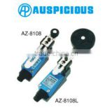 AZ-8108/8108L IP65 Mini Limit Switch Adjustable Side Rotary Roller Lever