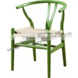 tiffany chair wedding chiavari chair with removable cushion Y back wood rattan seat chair