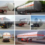 Hot sale low price high quality 40m3 50m3 60m3 oil tank semi trailer for sale                                                                         Quality Choice