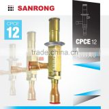 Sanrong CPCE 12 Automatic Constant Pressure Expansion Valve, Capacity Regulator, Refrigerant Hot Gas Bypass Injection Valve
