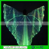 Luminous isis wings led belly dance wings glow-in-the-dark dance wings