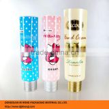 50ml screw cap offset printing surface handling cosmetic soft tube for skin care cream