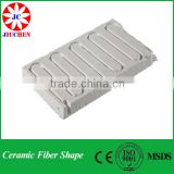 High temperature resistance fireproof ceramic fiber shaped parts
