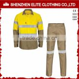 professional safety antistatic fluorescent engineering uniform workwear