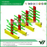 Hot sell best price multi level long span heavy duty warehouse double side cantilever rack, storage rack (YB-WR-C37)