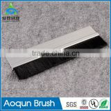 Factory customized aluminum alloy with brush door bottom seal