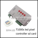 2048 pixels sim sd card led pixel controller programmable