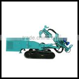 high efficiency hydraulic crawler anchor drilling machine, suitable for for direct or circulative hole-drilling