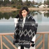 new design factory direct Hot selling Embroidered fur prayer shawl                                                                         Quality Choice