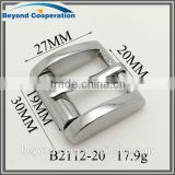 20mm shiny silver tiny type good polished roller bag connection buckle                                                                         Quality Choice