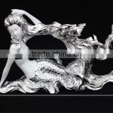 DS130044-2 novelty wine rack beauty sexy girl figurine wedding decoration gifts