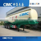 CIMC low price 3 axles bulk cement tankers semi trailers / bulk cement truck trailer for sale