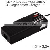factory price 27.6V 3A latest design portable electric toy car SLA AGM battery charger