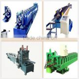 Steel Structure Metal CZ Purlin Interchangeable Cold Roll Forming Machine Quick interchangeable roll forming machine