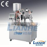 Cream Ointmemt Viscous Fluid Semi Automatic Tube Filling Sealing Machine