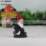 Mini resin garden small gnome figurines gift craft