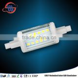 China Haining Mingshuai LED bulb R7S 78mm 2835 SMD 4W linear dimmable replace J78 halogen Lamp