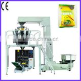 vertical/automatic/ banana chips packaging machine with 10 multi-head weigher SL-420