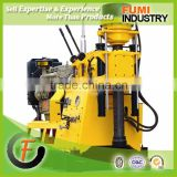 Hot Selling Low Price Good Quality 200m Hydraulic Shallow Portable Rotary Drilling Rig Used Borehole Drilling Machine for Sale