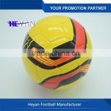 Customized soccer ball factory/wholesale best quality official size football soccer ball for match/Promotional