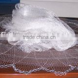 Nylon mono casting nets with lead chain
