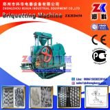 Hydraulic aluminum chips briquetting press machine