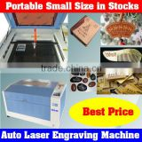 Portable Mini Size Auto Laser Glass Engraving Machine Used for Special Crafts Carving on Glass,Crystal,Stone,Wood,etc.