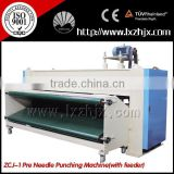 middle speed siemens motor needle punching machine, nonwoven needle punching felt machine