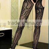 Wholesale Sexy Black Hollow Out Pantyhose