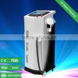 Best seller 808nm Diode Laser Hair Removal beauty equipment , 10 germany 100mw bars in treatment handle